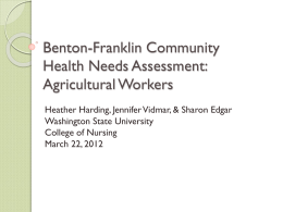 Agricultural Workers - Benton-Franklin Community Health Alliance