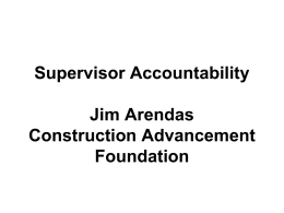 supervior-Accountability-Jim-Arendas