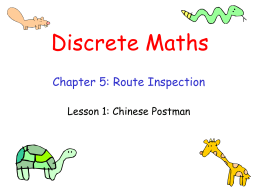 Discrete Maths - Mr Barton Maths