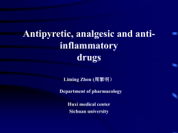 Antipyretic, analgesic and anti