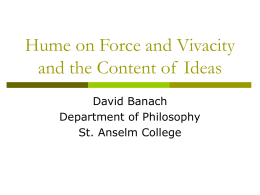 A New Kind of Dualism - David Banach Saint Anselm College