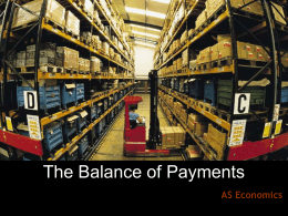 tutor2u™ What is the Balance of Payments?