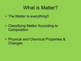 What`s the Matter?