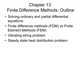 Finite Difference - Parallel Computing