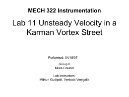 MECH 391 Instrumentation