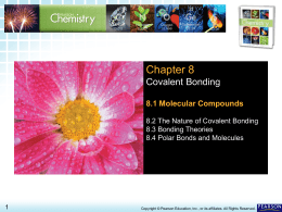 8.1 Molecular Compounds - iMater Charter Middle/High School