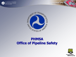 What is the Pipeline and Hazardous Materials Safety Administration?