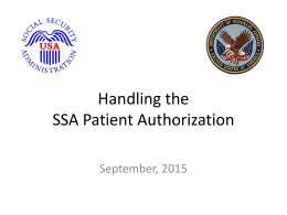 VA Patient Authorization