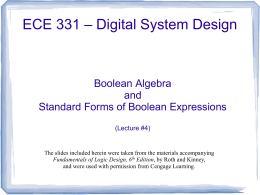 Lecture #4 - the GMU ECE Department