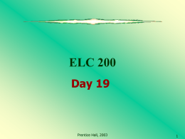 ELC 200 Day 19
