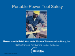 Portable Power Tool Safety