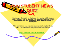 cnn student news quiz - Catawba County Schools