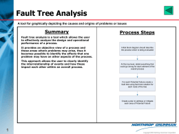 Fault Tree Analysis - Summary