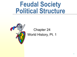 Power Point on Feudalism