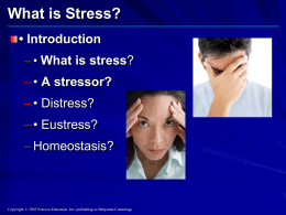 What is Stress? - biddle6