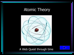 atomic Theory Quest