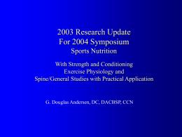 2004ResearchUpdateACBSP