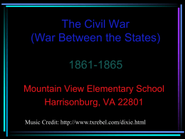 CivilWar - Westside Elementary School