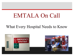 EMTALA2014ONCALL - Arkansas Hospital Association