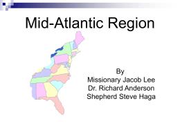 Mid-Atlantic Region - Washington University Bible Fellowship