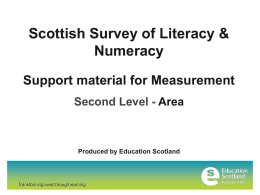 L2 Measurement - Education Scotland