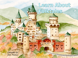 Learn About Folktales (powerpoint)