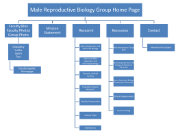 male reproductive biology group structure