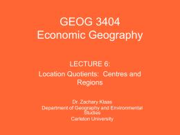 Lecture 6 - Carleton University