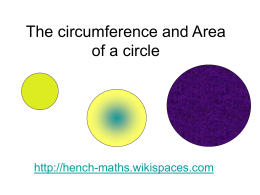 lesson 9 2 devoloping formulas for circles Professional development by definition & formula next lesson review the accompanying lesson how to find the equation of a circle this lesson covers the.