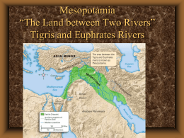 Unit 1 Lesson 2 Mesopotamia Terms and Early Law Codes