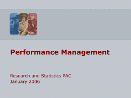 Interoperability Performance Management