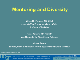 Does Mentoring Matter: Enhancing Mentor Development