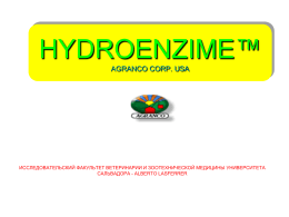 Phytex 500™ AGRANCO CORP.