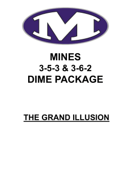 mines 3-5-3 dime package