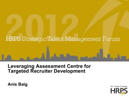 Why Assess Your Talent Acquisition Team?