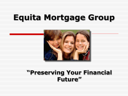 Insurance Presentation - Beneflex Financial Group