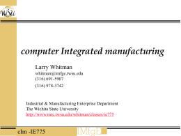Enterprise Engineering - Wichita State University