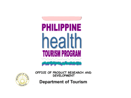 Medical Tourism in the Philippines