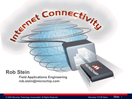 Microchip Connectivity Solutions