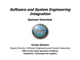 Defense Software Strategy Summit