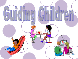 Guiding Children PowerPoint