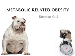 Metabolic relate obesity