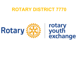 powerpoint - Rotary Youth Exchange District 7770