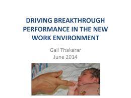 Gail Thakarar - Midwest Reproductive Symposium