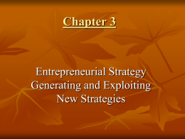 Chapter 3 The Individual Entrepreneur