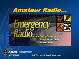 Ham Radio… - Inland Empire VHF Radio Amateurs Club