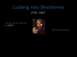 Beethoven powerpoint