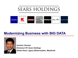 6-Sears - Big Data Paris 2016