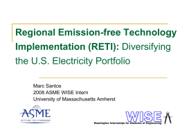 Demands of Emission Standards on the US Domestic Energy