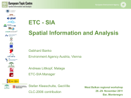 Session 4_ETC spatial information and analysis_29NOV2011